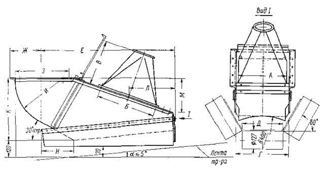 Размеры транспортеров ленточных тяговые цепи к цепному конвейеру